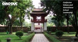 Ảnh hưởng của Nho giáo trong công tác lãnh đạo, quản lí nhà trường ở Việt Nam