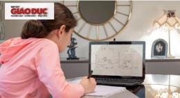 """Sử dụng """"bảng trắng online"""" giúp tăng cường sự tập trung và tự tin với môn Toán của học sinh"""