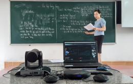 Trải nghiệm phòng học thông minh SmartROOM hỗ trợ chuyển đổi số việc dạy học đầu tiên tại Nam Định
