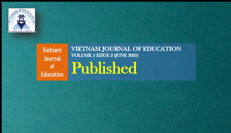 [VJE] - Vietnam Journal of Education xuất bản Volume 5, issue 2 (30/6/2021)