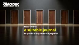 Tìm tạp chí quốc tế (journal finder) phù hợp để gửi bản thảo bài báo