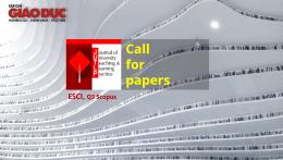 Cơ hội xuất bản bài báo trên tạp chí Journal of University Teaching and Learning Practice