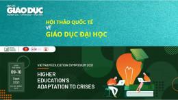 [VJE] 9-10/9/2021: Hội thảo quốc tế về Giáo dục đại học: Vietnam Education Symposium 2021