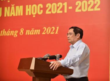 Thủ tướng Chính phủ khẳng định và biểu dương những thành tựu của ngành Giáo dục trong năm học 2020-2021