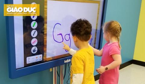 Công nghệ số trong giáo dục mầm non: Kinh nghiệm từ việc sử dụng bảng tương tác ở Thụy Điển