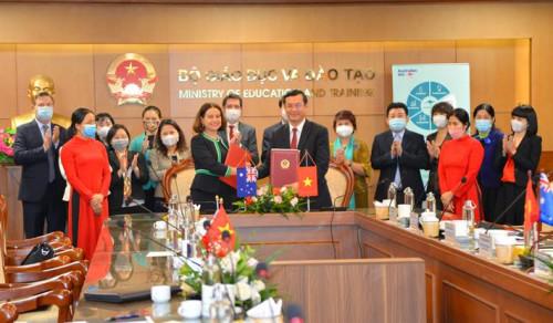 Việt Nam - Australia ký thỏa thuận bổ sung chương trình phát triển nguồn nhân lực